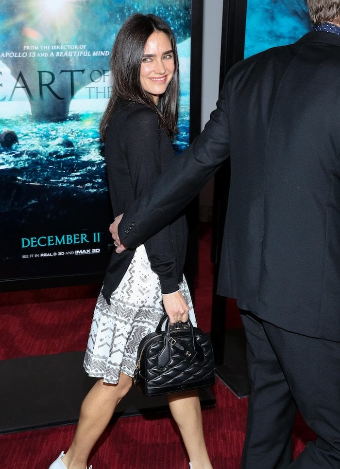 Jennifer Connelly flaunts her hot legs on the red carpet