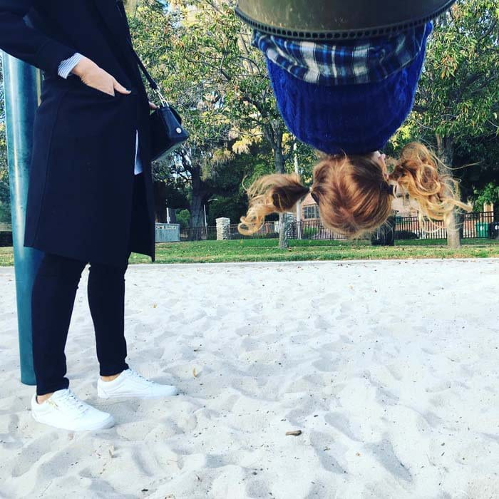 Cash Warren shares a picture from his family's outing to the park