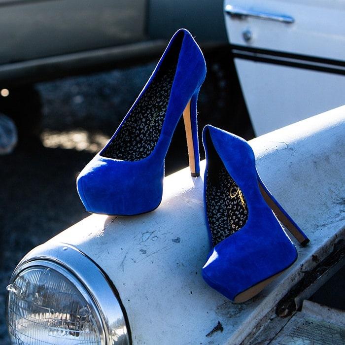 Jessica Simpson Jasmint Blue Pump