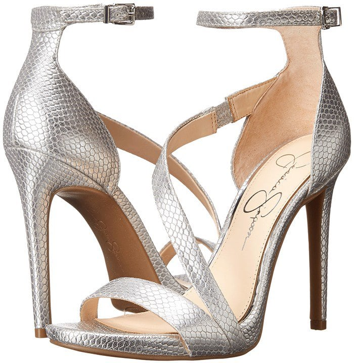 Jessica Simpson Rayli Silver Metallic
