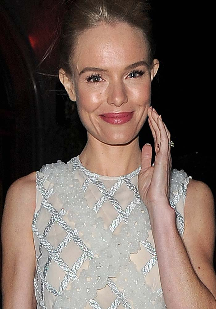 """Kate Bosworth wears her hair up at Charlotte Tilbury's """"Naughty Christmas Party"""" flagship store launch"""