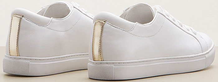 A sleek, streamlined platform sneaker perfectly punctuates your street style with a touch of sporty sophistication