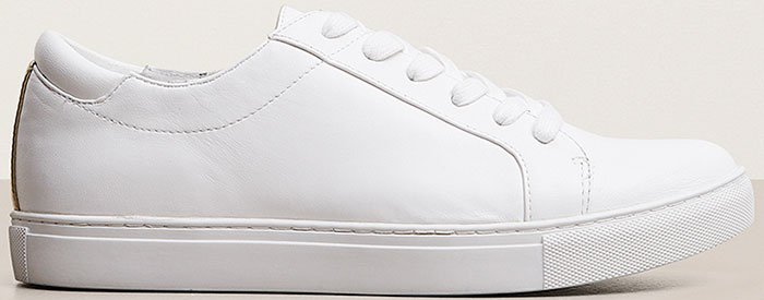 Kenneth-Cole-Kam-White-Leather-Sneakers