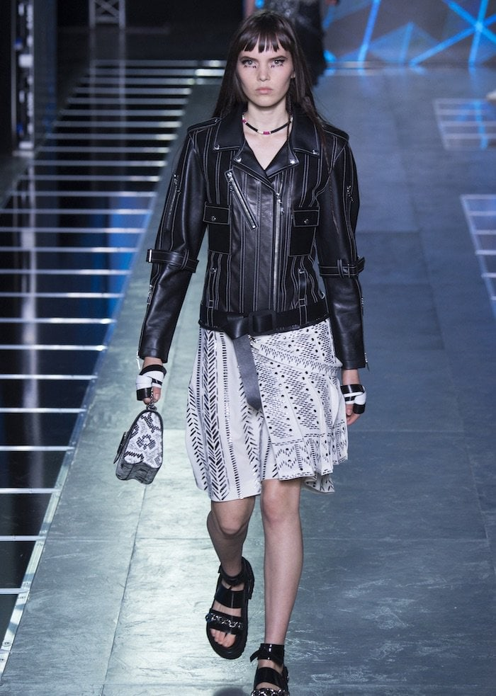 Louis Vuitton Spring 2016 skirt