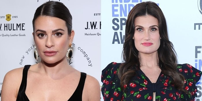 Idina Menzel plays Lea Michele's mother in Glee