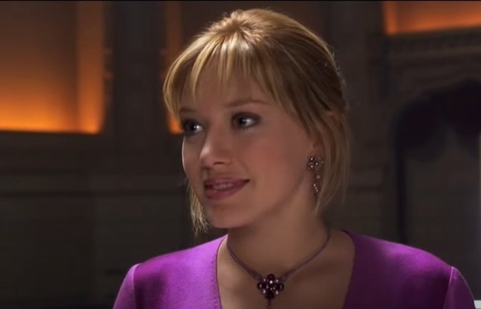Hilary Duff was paid $1 million for The Lizzie McGuire Movie