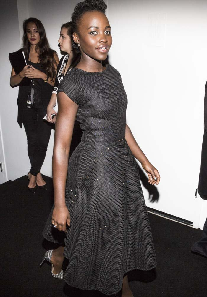 Lupita Nyong'o at the Star Wars Force 4 Fashion event at the Skylight Modern