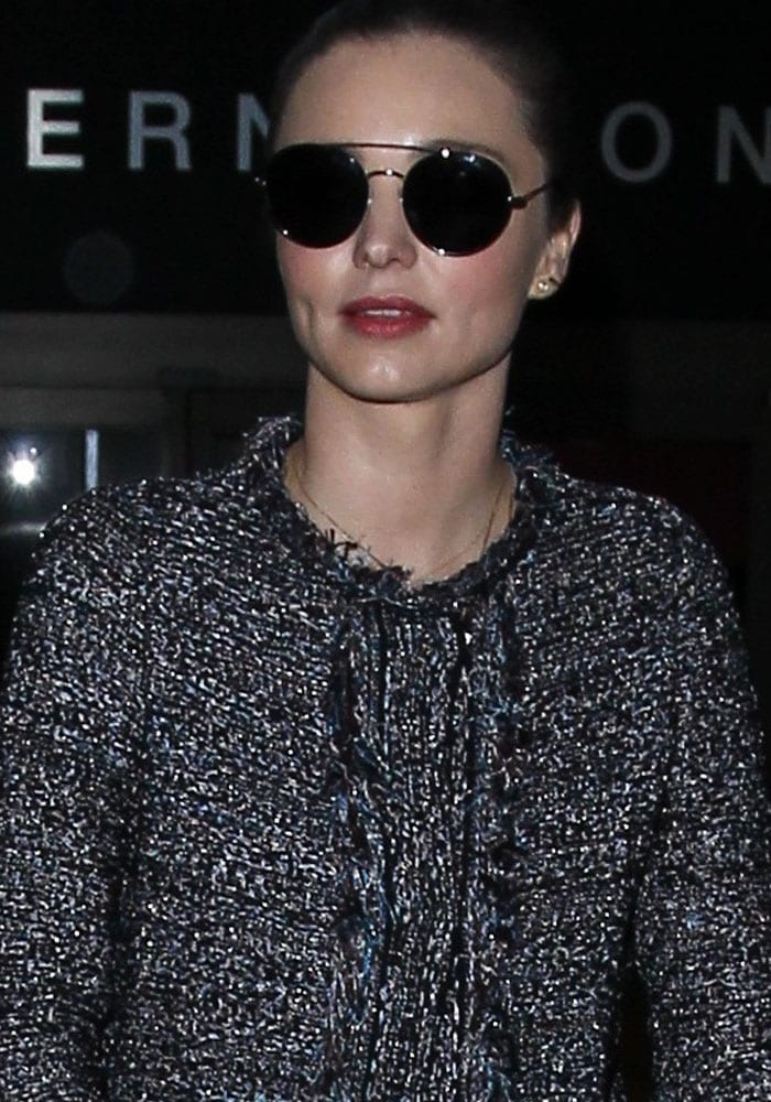 Miranda Kerr LAX Chanel 1
