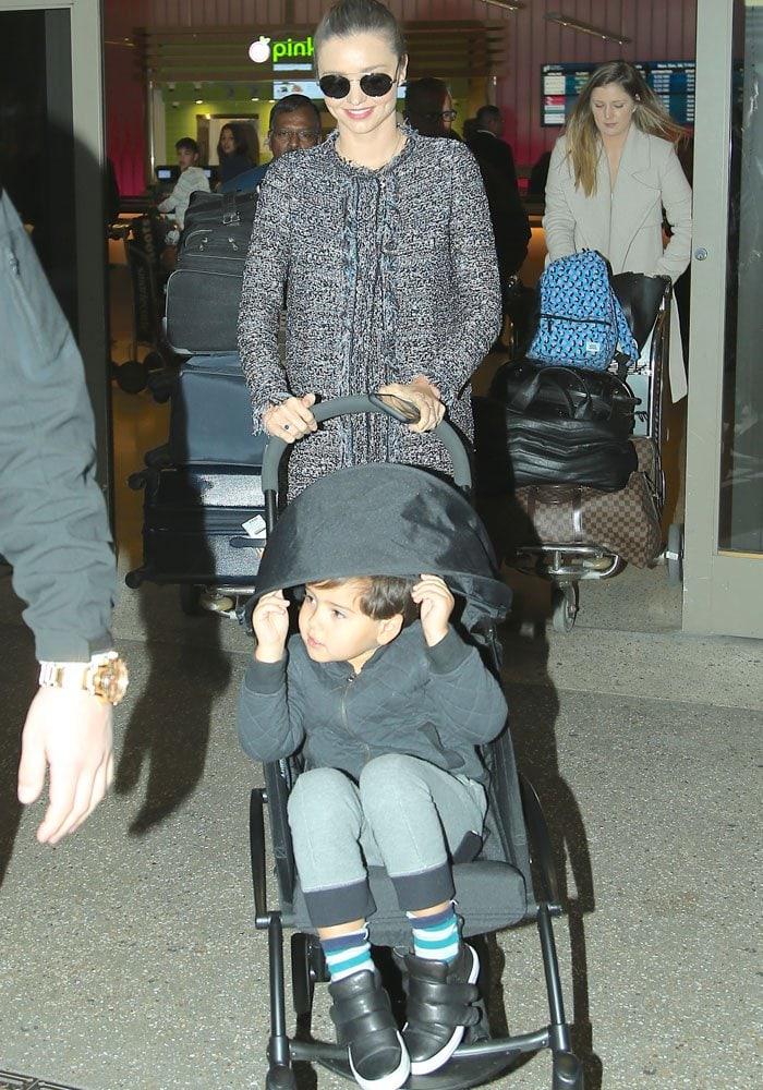 Miranda Kerr LAX Chanel 4