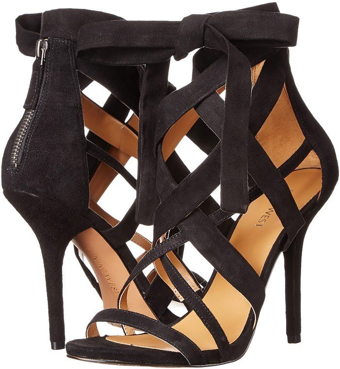 Nine West Rustic Strappy Sandals Black