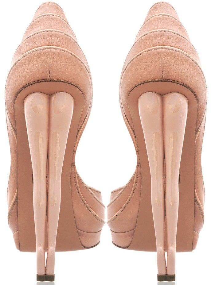 Rally Silhouette Nude Pumps