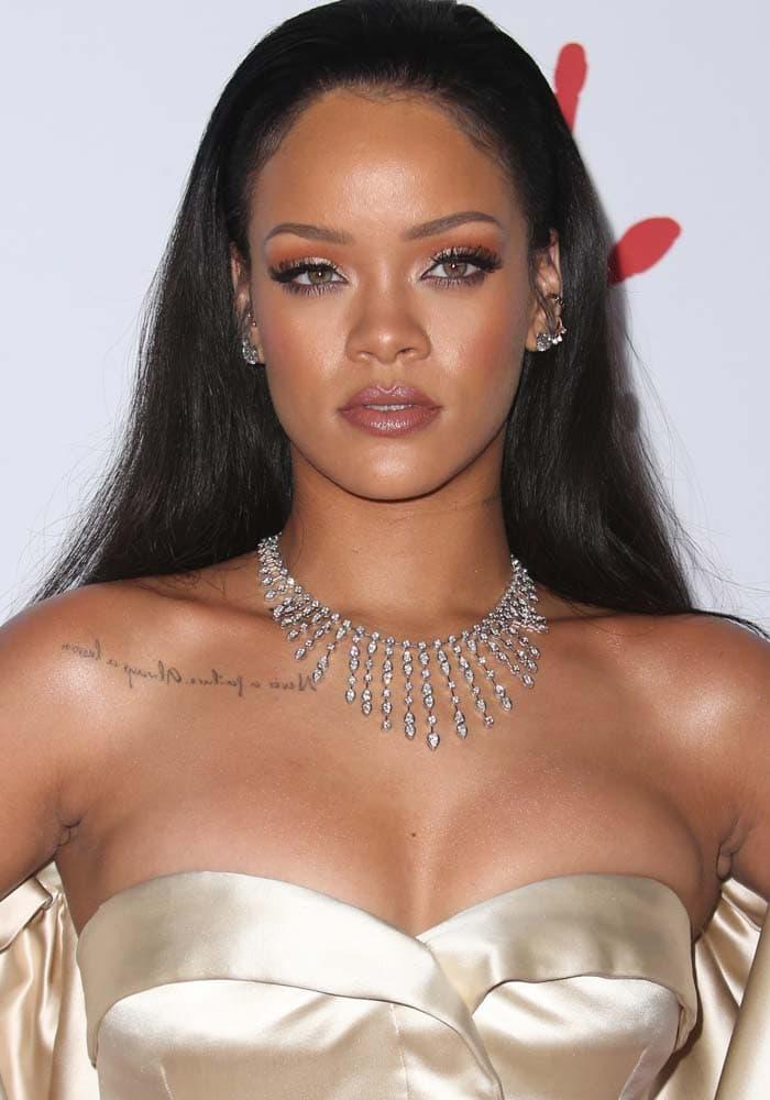 Rihanna Diamond Ball Christian Dior 1