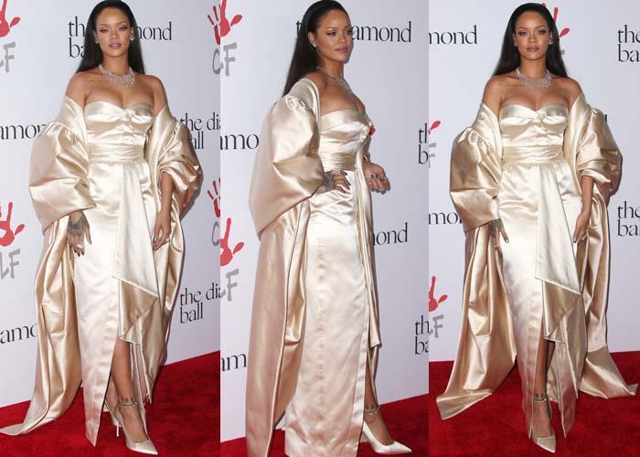 Rihanna Diamond Ball Christian Dior 2