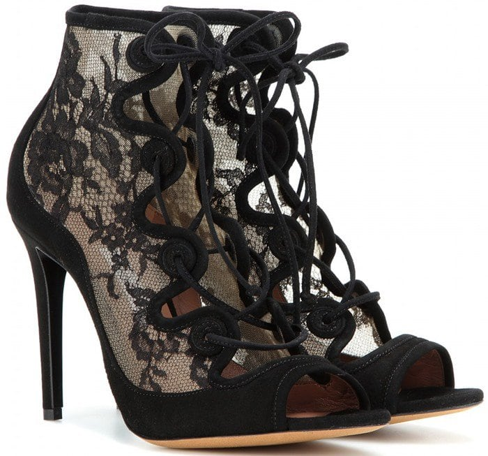 Tabitha Simmons Charlotte Lace-Up Sandal Booties