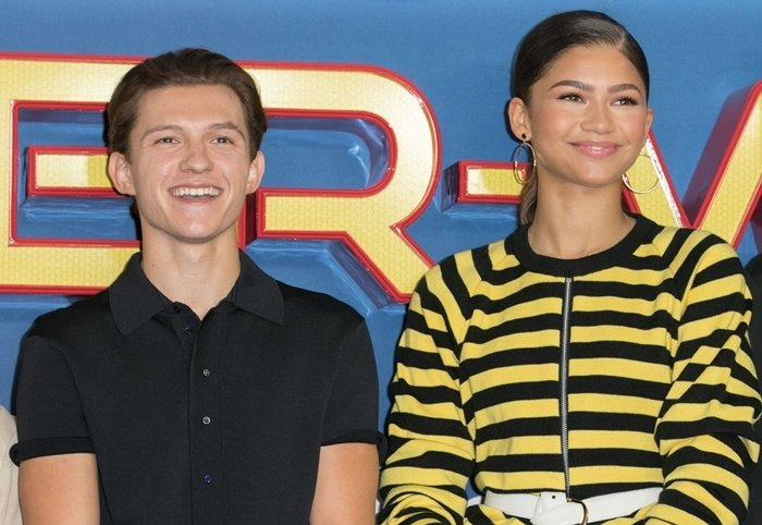 Spider-Man: Homecoming co-stars Tom Holland and Zendaya competed on Lip Sync Battle