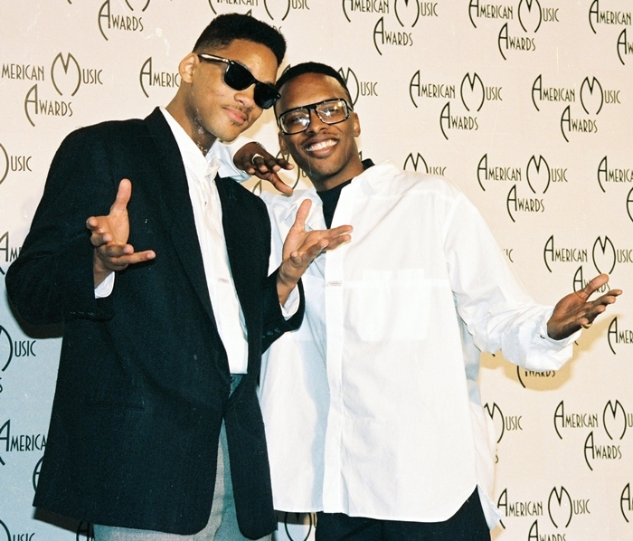 Will Smith and Jeffrey Allen Townes, known professionally as DJ Jazzy Jeff or simply Jazz, at the American Music Awards in 1988