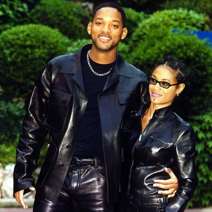 Will Smith and his wife Jada Pinkett Smith at the 1999 World Music Awards
