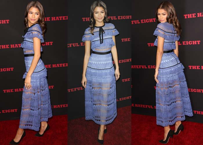 Zendaya Hateful Eight Nicholas Kirkwood 2
