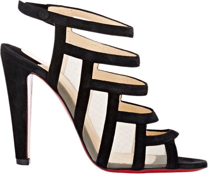 "Black Christian Louboutin ""Nicobar"" Sandals"