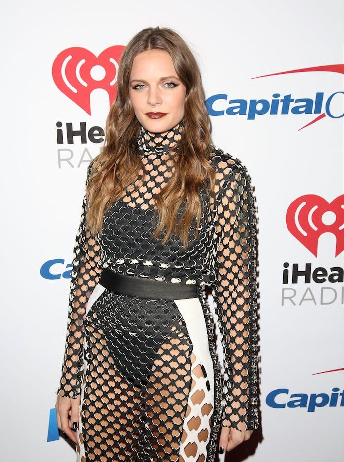 Tove Lo attends KIIS FM's iHeartRadio 2015 Jingle Ball held December 4 at the Microsoft Theatre in Los Angeles