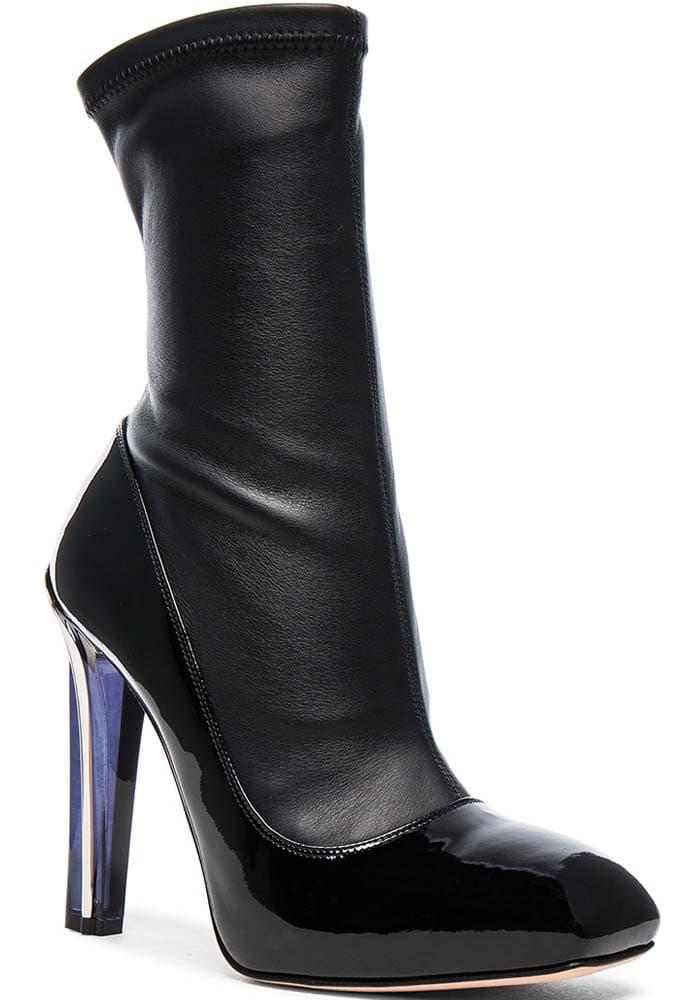 Alexander McQueen Plexi Pump-style Boots