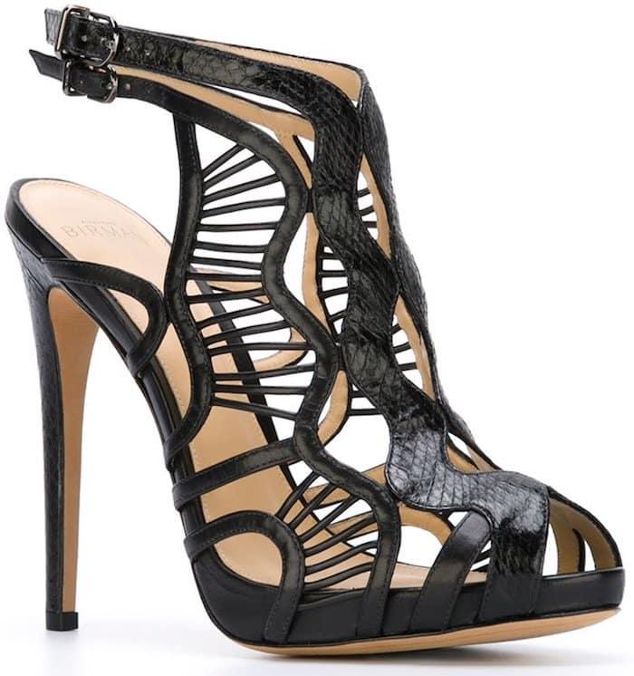 Alexandre Birman Loretta Cage Ankle Sandals