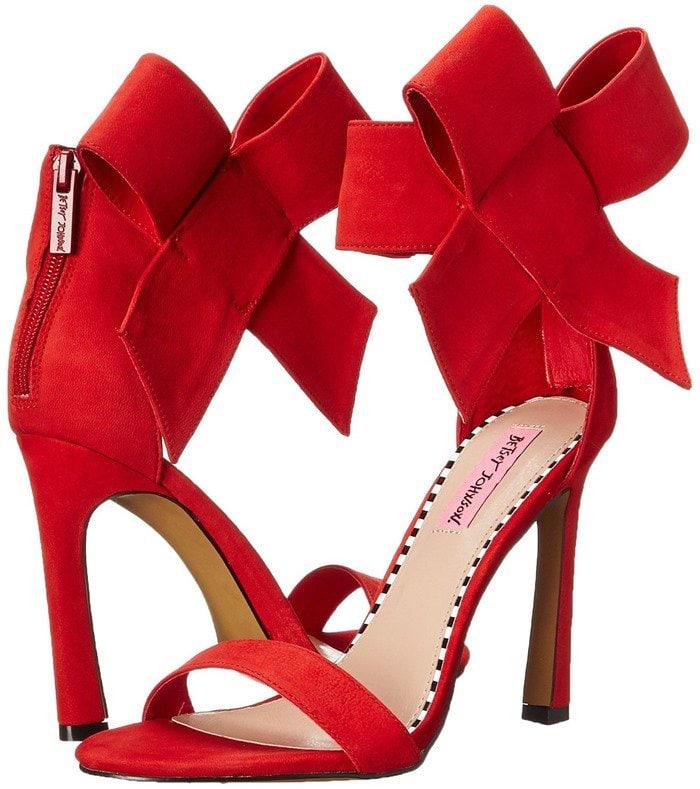 Betsey Johnson Friskyy Sandals Red