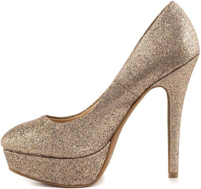 Jessica Simpson Bette in Soft Gold Dusty Glitter