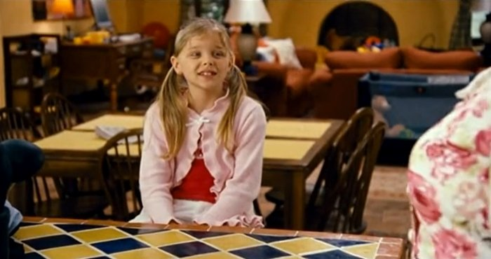 Chloë Grace Moretz was 8 years old when Big Momma's House 2 was released in January 2006