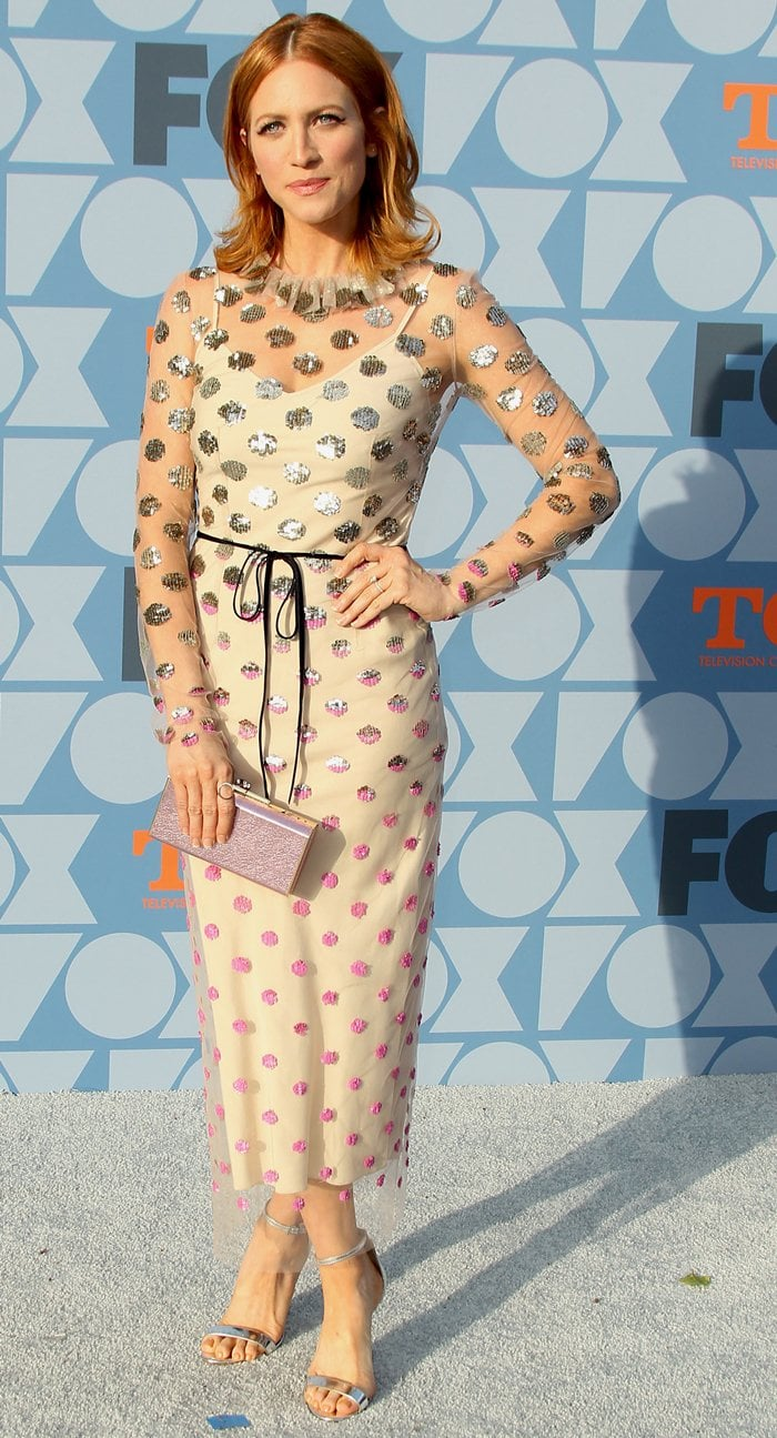 Brittany Snow at the 2019 Fox Summer TCA All-Star Party