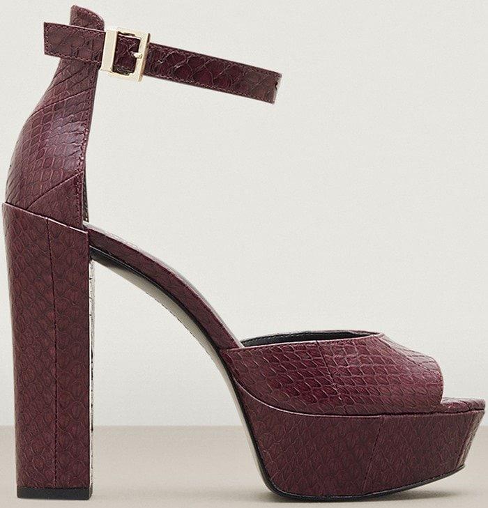 Kenneth Cole Ciera Ankle-Strap Platform Sandals