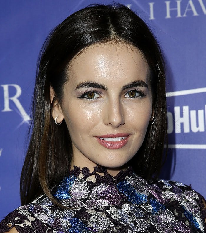 Camilla Belle attends the Jennifer Lopez Official After Party Red Carpet