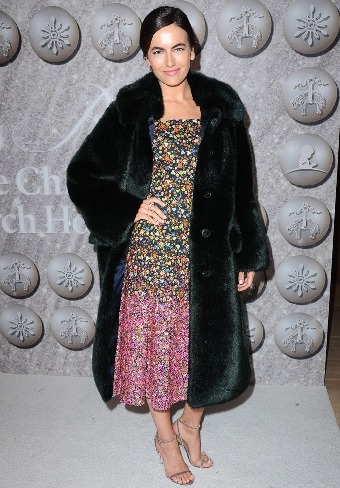 Camilla Belle attends Brooks Brothers Annual Holiday Celebration To Benefit St. Jude
