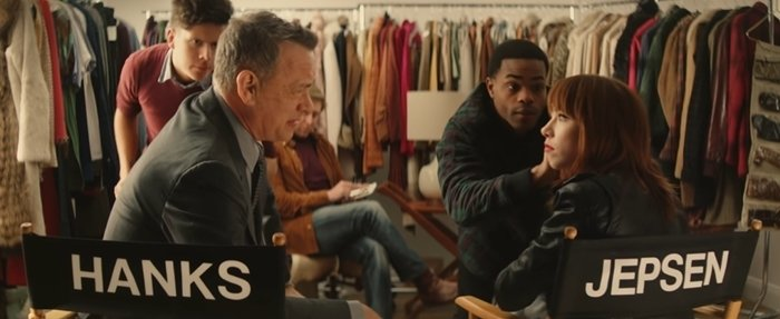 Tom Hanks meets Carly Rae Jepsen in the music video for I Really Like You