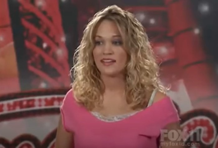 """Carrie Underwood was 21-years-old when auditioning for American Idol in St. Louis, Missouri, singing Bonnie Raitt's """"I Can't Make You Love Me"""""""