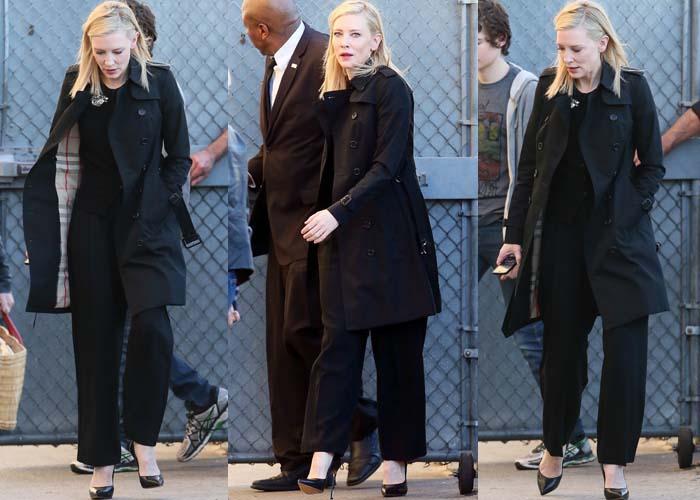 Cate Blanchett Jimmy Kimmel Casadei 2