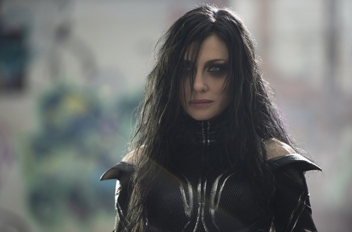 Cate Blanchett was 47-years-old when starring as Thor's older sister and the goddess of death Hela in Thor: Ragnarok