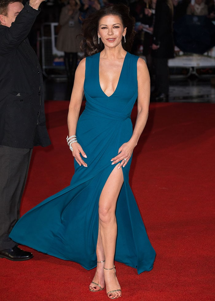 Catherine-Zeta-Jones-Dad's-Army-UK-premiere