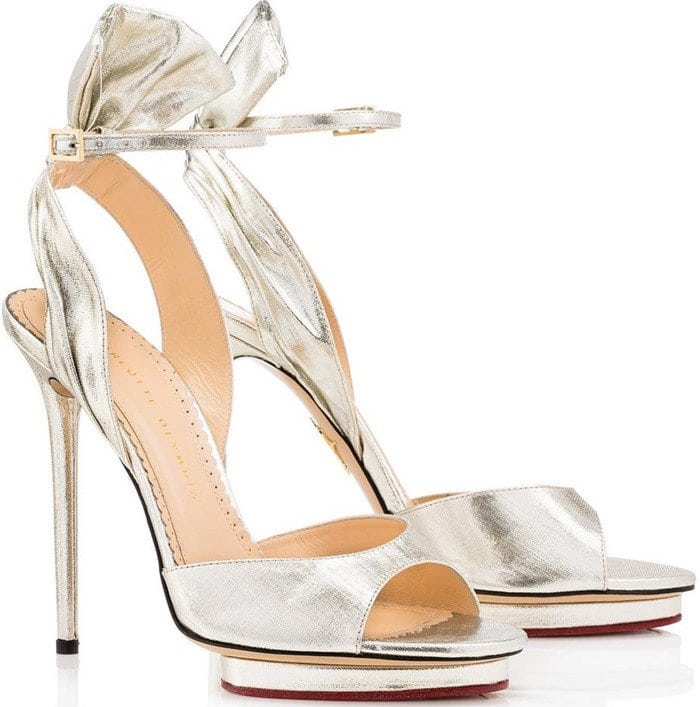 Charlotte Olympia 'Wallace' Ankle Strap Sandal