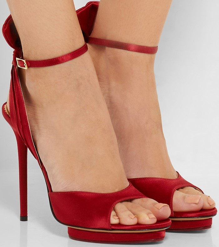 Charlotte Olympia Wallace satin sandal
