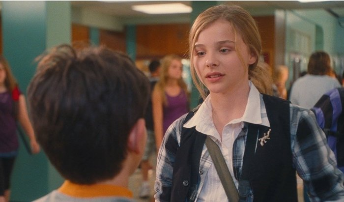 Chloë Grace Moretz was 12-years-old when filming Diary of a Wimpy Kid