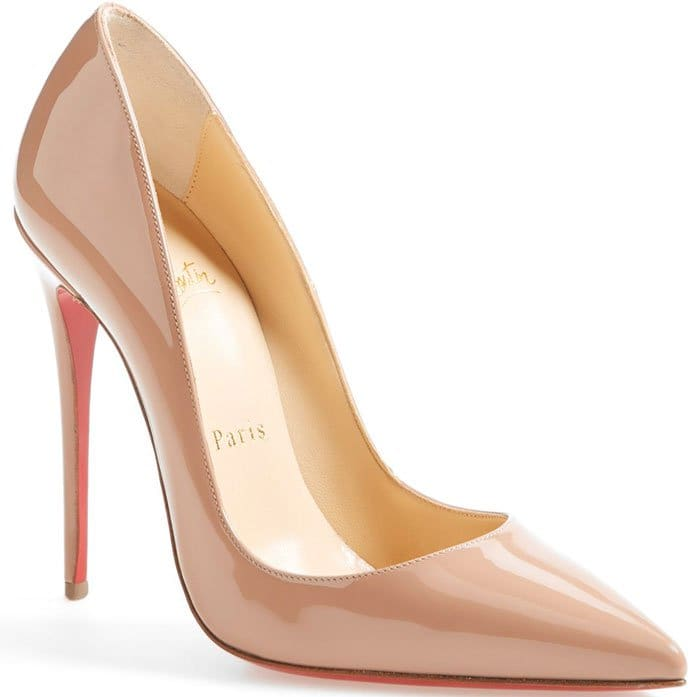 Christian Louboutin So Kate Pumps Nude