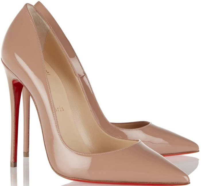 """Christian Louboutin """"So Kate"""" Patent Leather Pumps"""