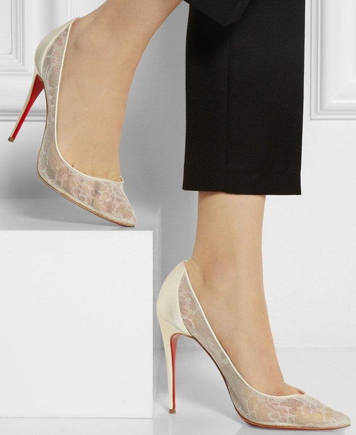 Christian Louboutin's 'Pigalace' pumps are a feminine update on the classic 'Pigalle' style