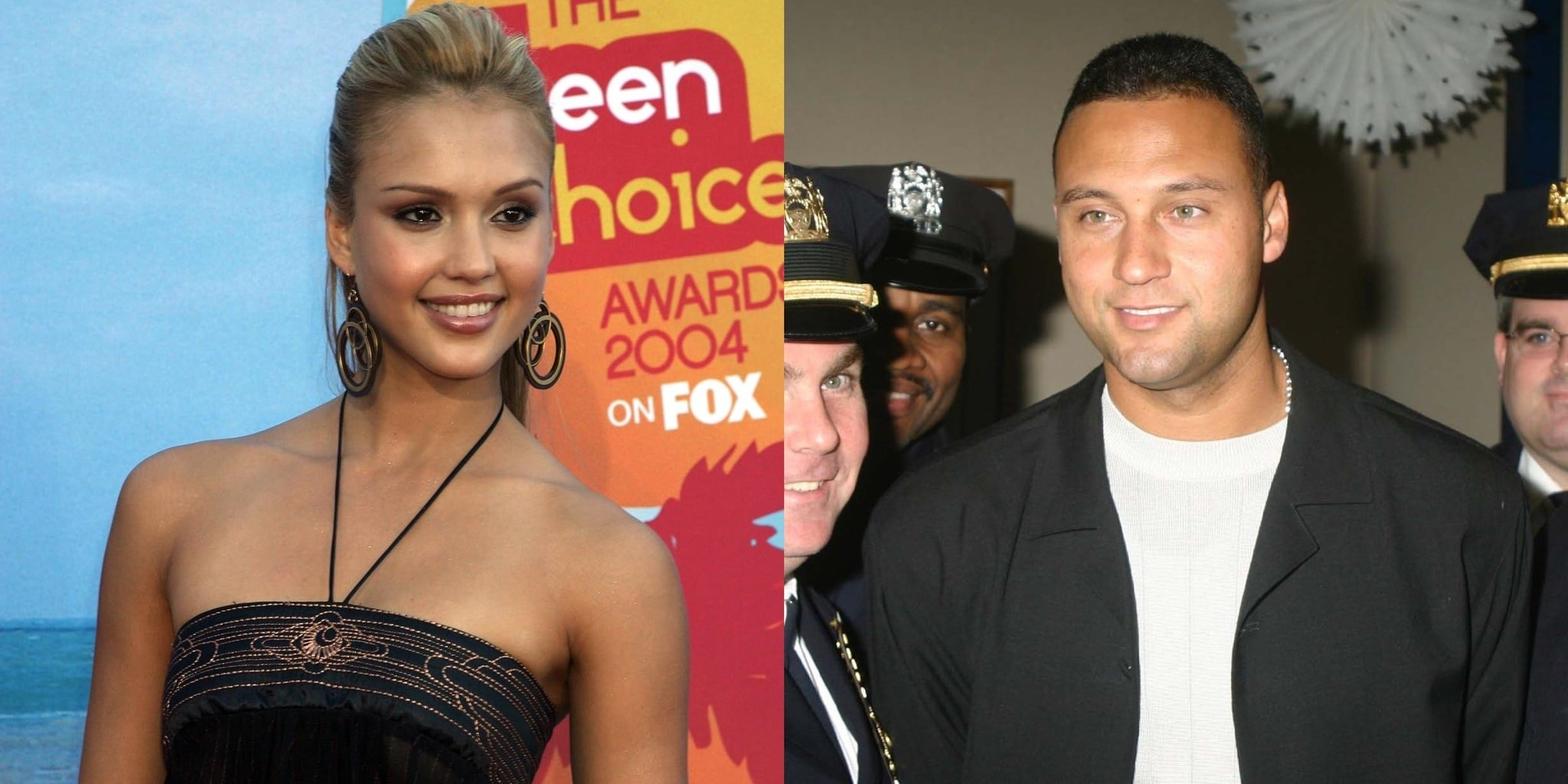 Derek Jeter is rumored to have given Jessica Alba herpes while dating briefly in 2004