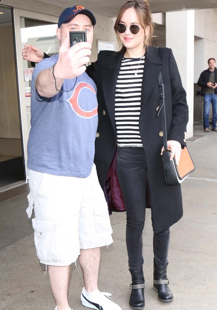 Dakota Johnson LAX Steve Madden 4