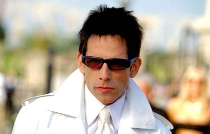 Not a real person, Derek Zoolander is a play on the names of Dutch model Mark Vanderloo and American model Johnny Zander