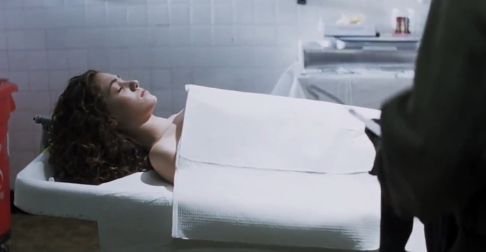 Emmy Rossum's character Katie Markum ends up dead in Mystic River