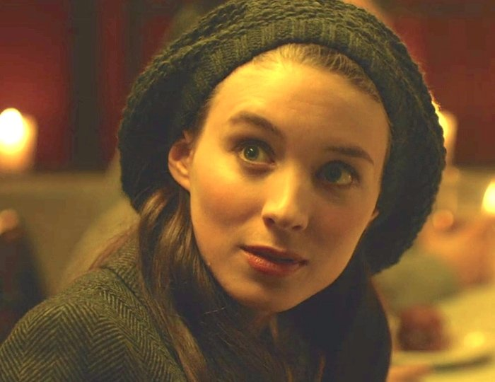 Rooney Mara was 24-years-old when filming The Social Network as Erica Albright