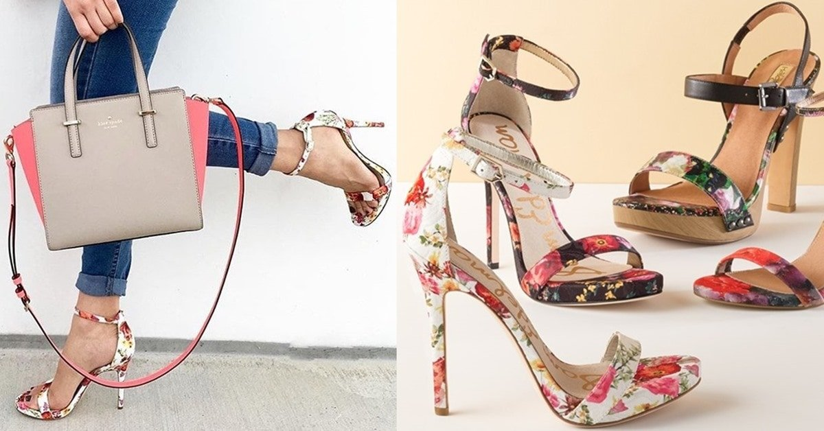 51ca068a26150 Welcome Spring in Floral Sam Edelman  Eleanor  Ankle Strap Sandals